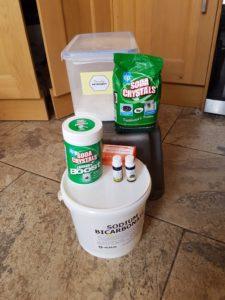 Supplies for Homemade Washing Powder