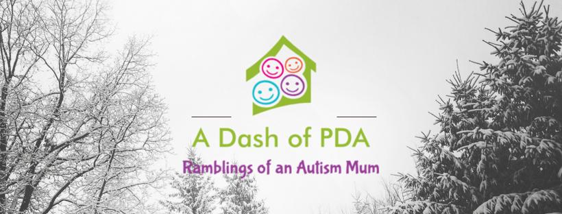 A Dash of PDA Logo - I am only human
