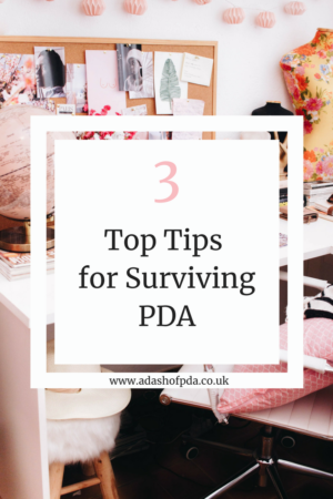 3 Top Tips for Surviving PDA