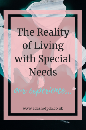 The Reality of Living with Special needs - an iceberg - by Rambling's of an Autism Mum
